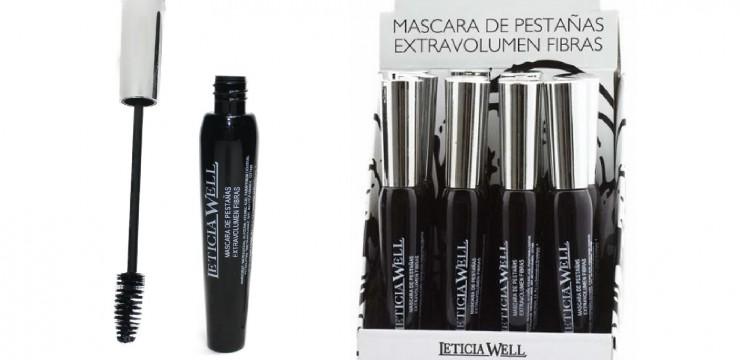 Ref. 33014 Máscara Pestañas Negra EXTRAVOLUMEN FIBRAS