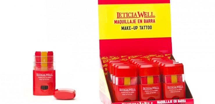 Barra Maquillaje Bandera España Ref. 44200