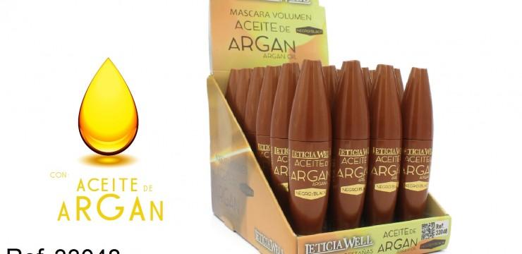 Ref. 33048 Máscara Negra VOLUMEN con Aceite de Argan