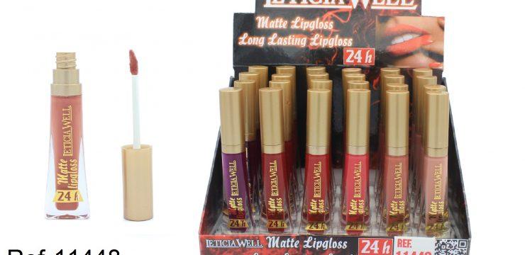 Lip Gloss Oro MATTE 24h. Ref. 11448