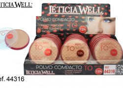 Ref. 44316 Polvo Compacto TO WEAR 12h.