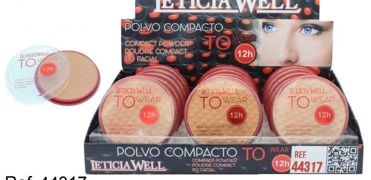 Ref. 44317 Polvo Compacto TO WEAR 12h.