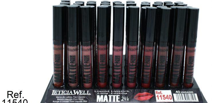 Liquid Lipstick MATTE 24h. Ref. 11540 10 colores