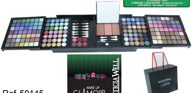 Cofre Maquillaje GLAMOUR GREEN Ref. 50145