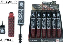 Ref. 33093 Máscara Pestañas + Eye Liner WATERPROOF