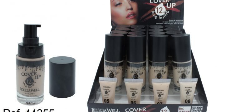 Maquillaje Cristal COVER UP Ref. 44255