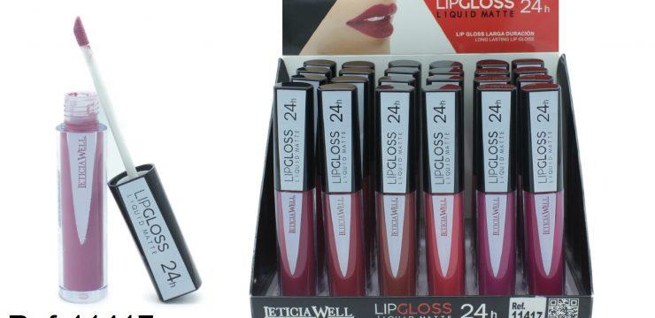 Lip Gloss Liquid Matte 24h Ref. 11417