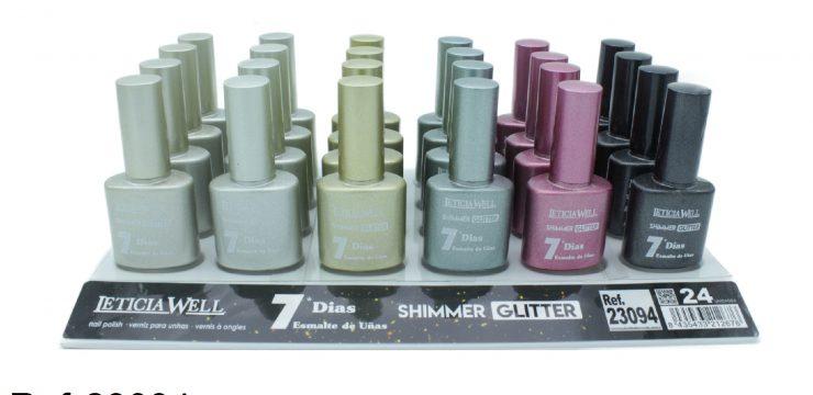 Laca de Uñas SHIMMER GLITTER  Ref 23094