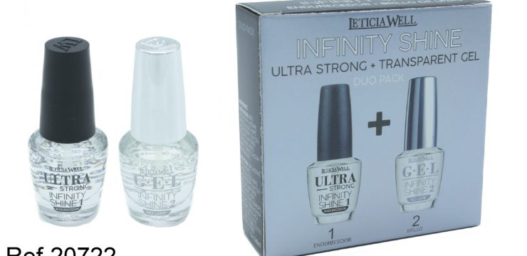 REF. 20722  DUO PACK ULTRA STRONG +  GEL BRILLO INFINITY SHINE