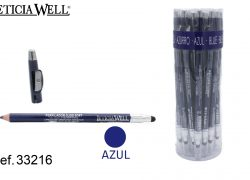 Ref. 33216 Lápiz Ojos AZUL SOFT +aplicador+sacapuntas