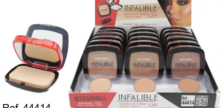 Ref. 44414 Compact Cream INFALIBLE 12H
