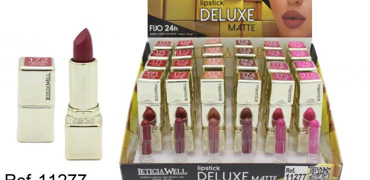 Ref. 11277 Lipstick DELUXE MATTE fijo 24h.