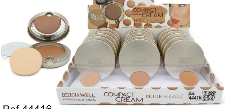 Ref. 44416 Compact Cream NUDE MAGIQUE