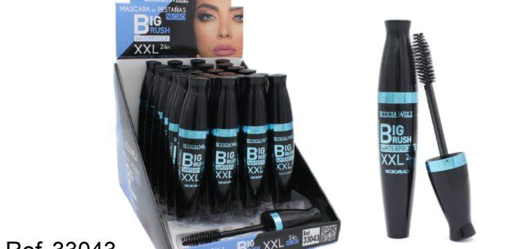 Ref. 33043 Máscara Negra Waterproof  BIG BRUSH