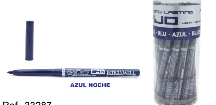 Ref. 33287 Lápiz de Ojos Automático AZUL FIJO 24h.