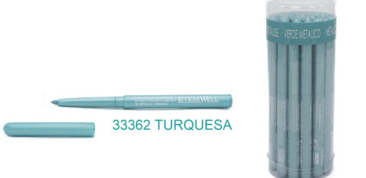 Ref. 33362 Lápiz Ojos Automático  TURQUESA