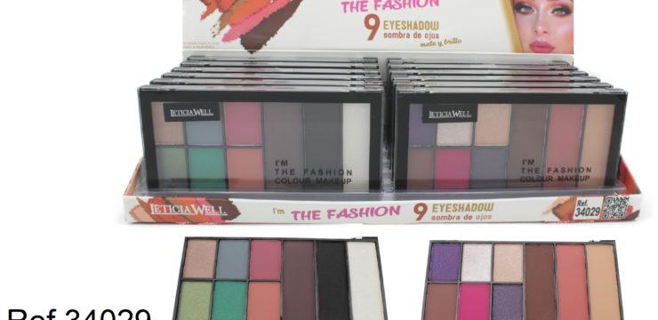 Ref. 34029 I´  M THE FASHION 9 colors Makeup